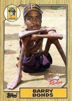 Barry Bonds Rookie Card