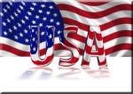3D Shiny USA text
