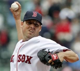 Red Sox starter John Lackey