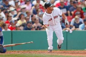 Red Sox 3rd baseman Brandon Snyder